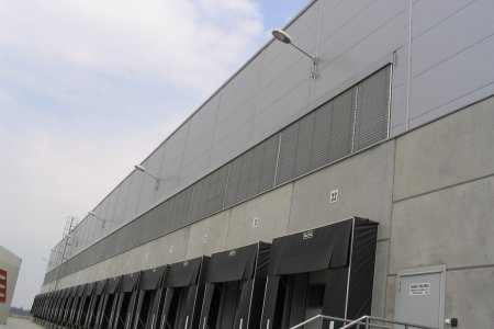 Lidl Gliwice - Żaluzje Fasadowe C80