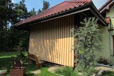 Altana ogrodowa - Żelazko